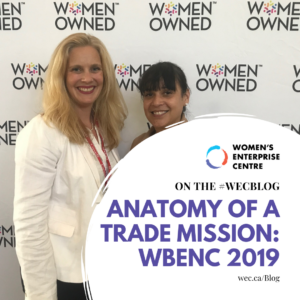 Learn how a trade mission works in this blog about the 2019 WBENC Conference