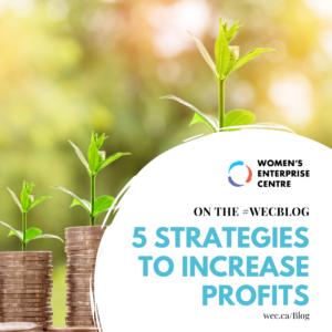 Increase Profits - 5 Strategies