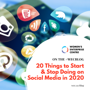 Social Media 2020: Tips to Start and Stop This Year