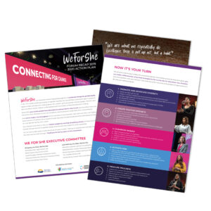 Download the WE FOR SHE 2020 Action Plan