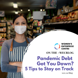Tips for Business owners dealing with pandemic debt
